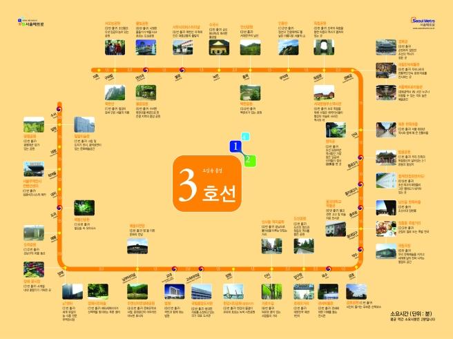 3호선 Line 3